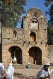 Ehiopian kościół Zdjęcia Royalty Free
