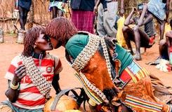 Ehiopian marknad Royaltyfri Fotografi