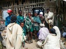 Ehiopian village Stock Photos