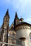 Ehrad do ¡ de VyÅ - castelo superior, Praga imagem de stock