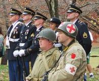 Ehren Sie unsere Veterane Stockbild