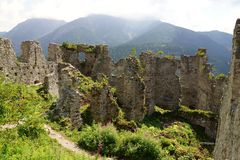 Ehrenberg Castle Ruins Stock Photo
