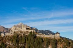Ehrenberg-Schloss in Österreich Lizenzfreie Stockbilder
