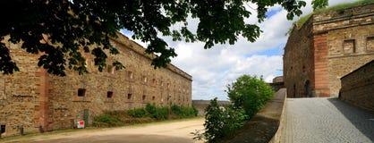 Ehrenbreitstein Fortification Stock Images