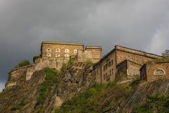 Ehrenbreitstein fortress. In Koblenz, Germany stock photo