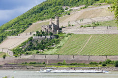 Ehrenfels Castle Stock Image
