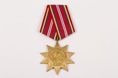 Ehrenmedaille Lizenzfreie Stockbilder