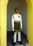 Ehrenwache, Royal Palace, Istana Negara, Kuala Lumpur Lizenzfreie Stockbilder