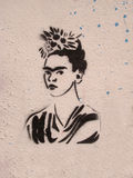 Ehrerbietung zu Frida Kahlo lizenzfreie stockfotos