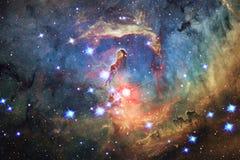Ehrfürchtig vom Weltraum Milliarden Galaxien im Universum stockfotografie