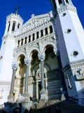 Ehrfürchtige Architektur in Frankreich stockfoto