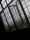 ehrfürchtige Stadtbangalore-Hausansicht-Terrasse flaches bunglow Stockfotografie