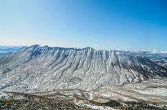 Ehrfürchtiger Berg auf Sachalin-Insel Stockbilder