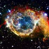 Ehrfürchtiger Nebelfleck im Weltraum Elemente dieses Bildes geliefert von der NASA Lizenzfreie Stockfotografie