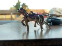 Ehrfürchtiger Pferdeschlüssel Stockbild