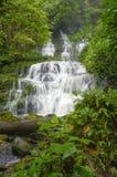 Ehrfürchtiger Wasserfall in Thailand Stockfotografie