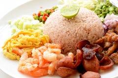 Ehrfürchtiges thailändisches Lebensmittel Stockfotos