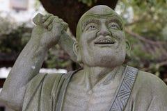 Ehrwürdige schnitzen-große Steinstatue achtzehn Lizenzfreie Stockbilder