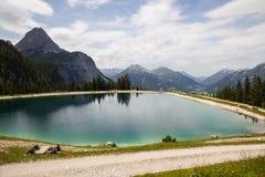 Ehrwald Alpin Lake Royalty Free Stock Images