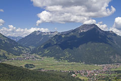 Ehrwald in Tyrol Royalty Free Stock Photo