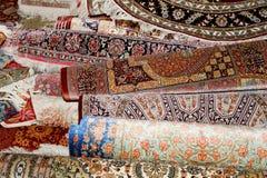 Ehtnic Carpets Texture, Amman, Jordan Stock Photos