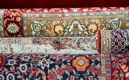 Ehtnic tapisse la texture, Amman, Jordanie Photos stock