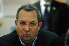 Ehud Barak Royalty Free Stock Photo