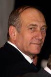 Ehud Olmert - 12th Pierwszorzędny minister Izrael Obrazy Royalty Free