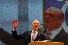 Ehud Olmert - 12th Prime Minister of Israel Royalty Free Stock Images