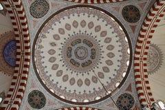 ŞEHZADE MOSQUE DOME INTERIOR, İSTANBUL Stock Image