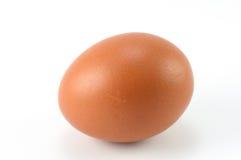 Ei auf einem weißen Hintergrund Lizenzfreies Stockfoto