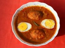 Ei-Curry Lizenzfreie Stockfotos