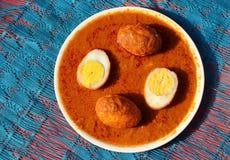 Ei-Curry Lizenzfreies Stockfoto
