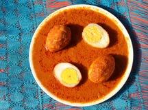 Ei-Curry Lizenzfreies Stockbild