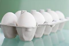 Ei in der Verpackung Lizenzfreies Stockbild