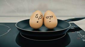 Ei in der Wanne Egg concept Lizenzfreies Stockbild