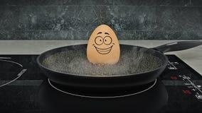 Ei in der Wanne Egg concept Lizenzfreie Stockbilder