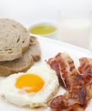 Ei en bacon Royalty-vrije Stock Afbeelding