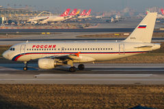 EI-EYL Rossiya Airlines, Airbus A319-111 Stock Images
