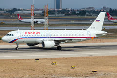 EI-EYS Rossiya Russian Airlines, Airbus A320-214 Stock Photo