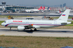EI-FAJ Rossiya Airlines, Airbus A320-214 Stock Images