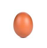 Ei met witte achtergrond wordt geïsoleerd die Royalty-vrije Stock Fotografie