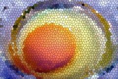 Ei-Mosaik lizenzfreie stockbilder
