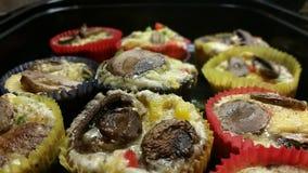 Ei-Muffins Lizenzfreies Stockfoto