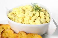 Ei-Salat Stockfotografie