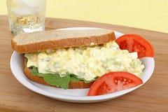 Ei-Salat-Sandwich lizenzfreie stockfotos