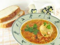 Ei-Suppe lizenzfreies stockfoto