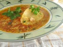 Ei-Suppe lizenzfreies stockbild