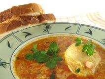 Ei-Suppe stockbilder