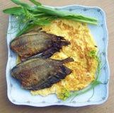 Ei und Fischrogen Lizenzfreies Stockbild